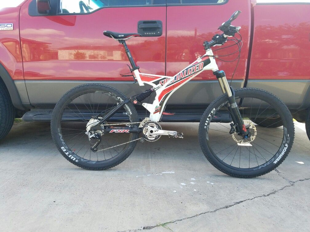 3970b45ebf9 2000 specialized rockhopper fsr a1 comp project completed! Beautiful frame!  My daily ride!
