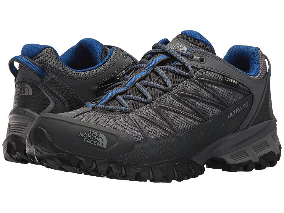 f3375cce3 The North Face Ultra 110 GTX(r) (Zinc Grey Turkish Sea) Men s Shoes ...