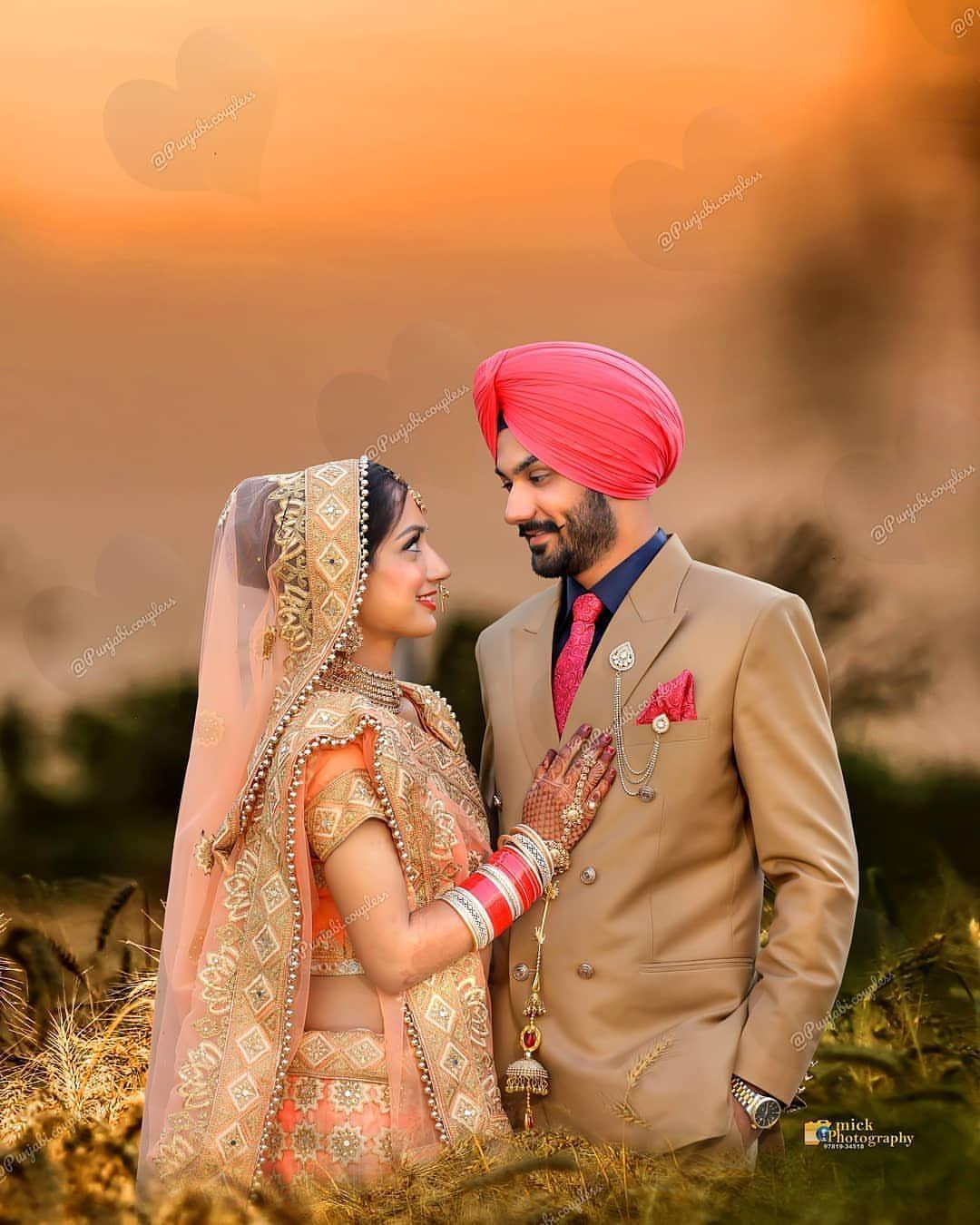 Cute punjabi sardar couple pics wedding couple poses couple shoot couple posing wedding