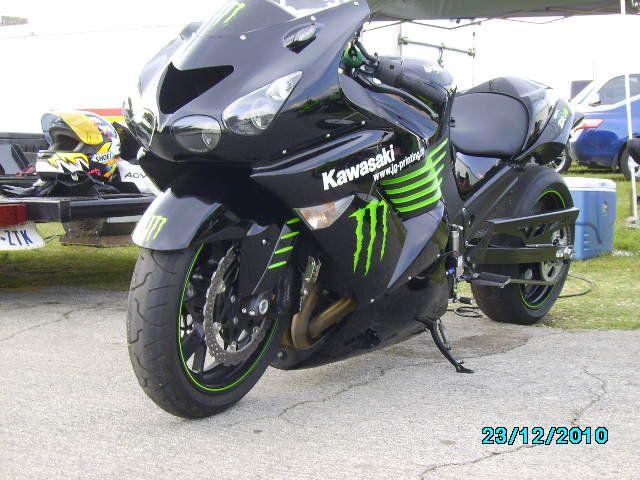 Kawasaki ZX 14 Ninja Monster Energy Drink Limited Edition... Just Like The