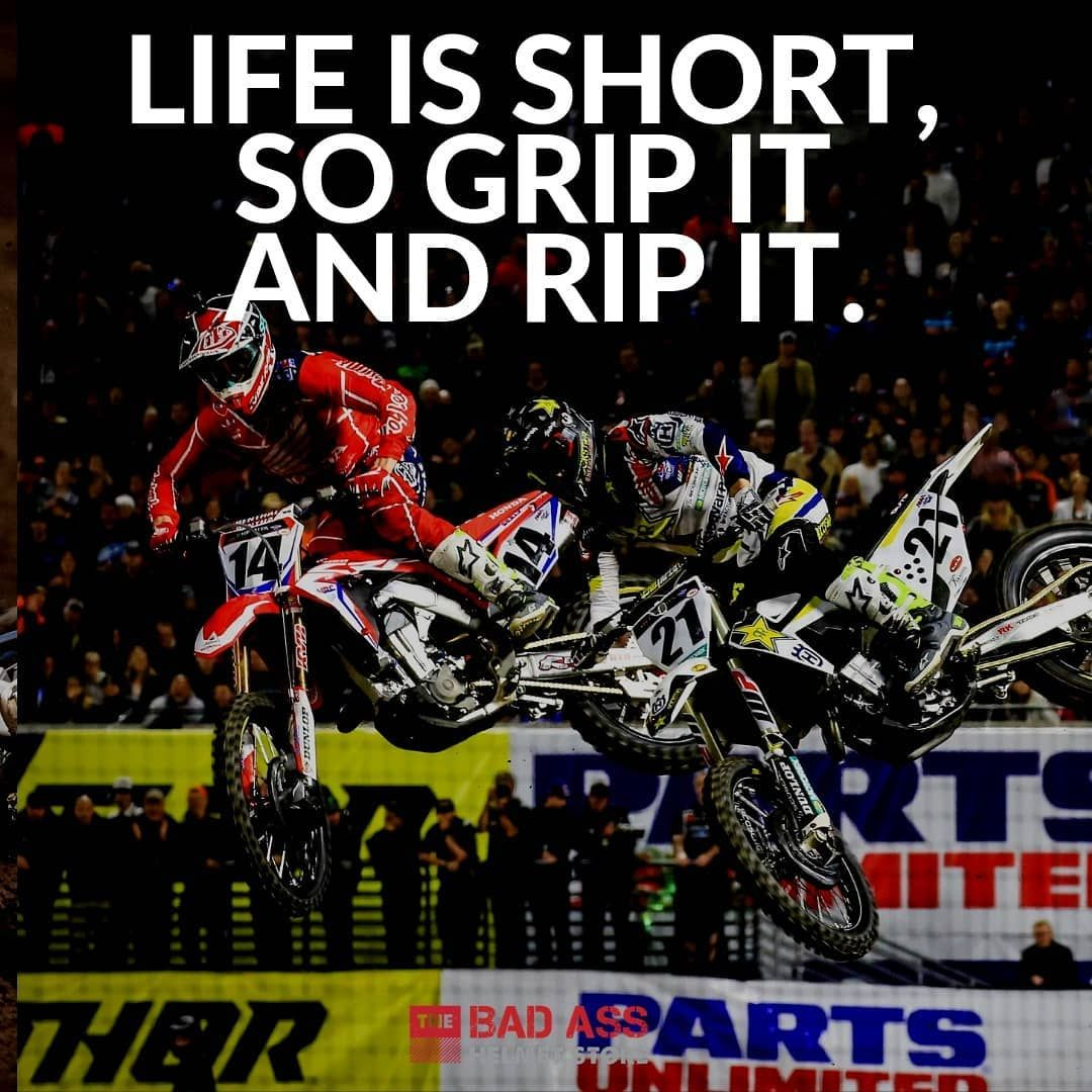 Pin By Robin Borrego On Moto In 2020 Dirt Bike Quotes Life Is