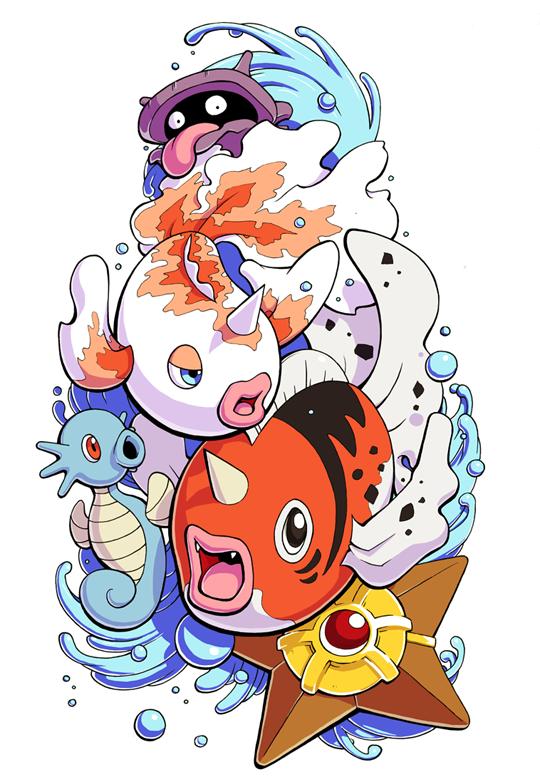 The Original Pokemon Community Pokemon Tattoo Pokemon Water Pokemon