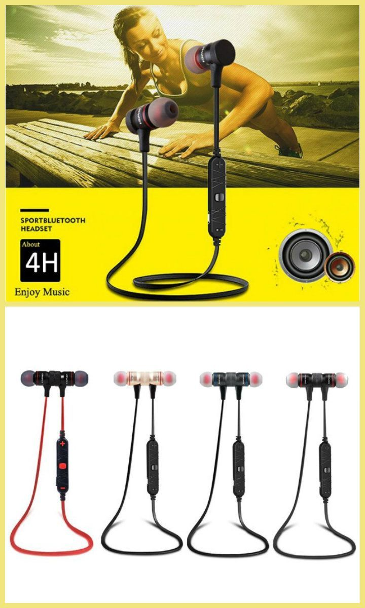 aa42d1a2c8b $28.89 free shipping Sport exercise headphone, with HD music play, enjoying  music and other