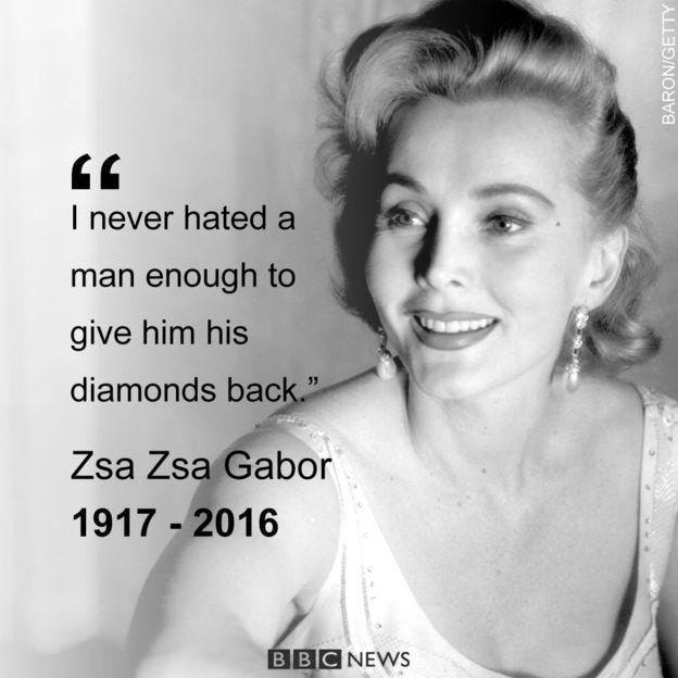 Zsa Zsa Gabor In Her Own Words Words Pinterest Zsa Zsa Zsa Delectable Zsa Zsa Gabor Quotes