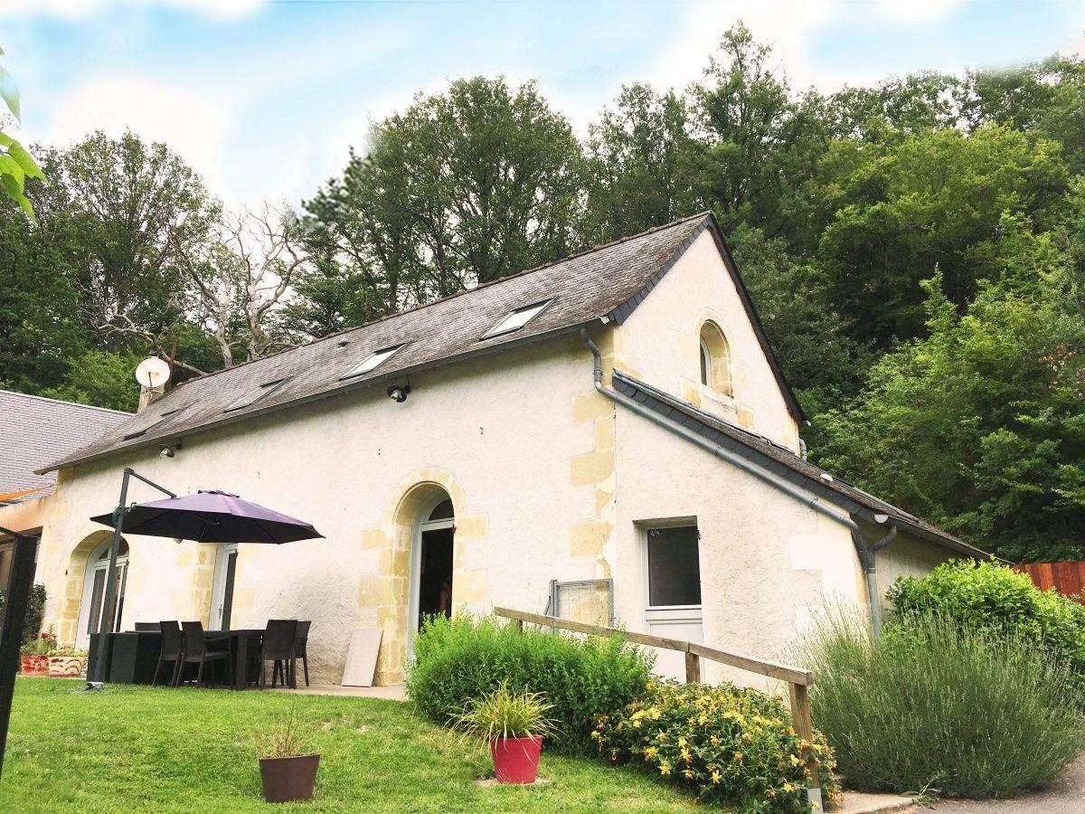 Gite Nature Loire Et Châteaux 3 En Centre 37 Indre Et Loire Maison De Campagne Entièrement Rénovée Pour Gites De Charme Gite Salle De Bains Avec Wc