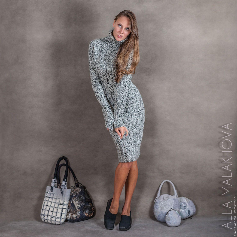 Платье ручная вязка купить