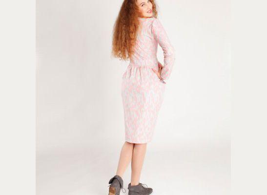 Schnittmuster Kleid Sally | www.pom-pon.ch | Schnittmuster ...
