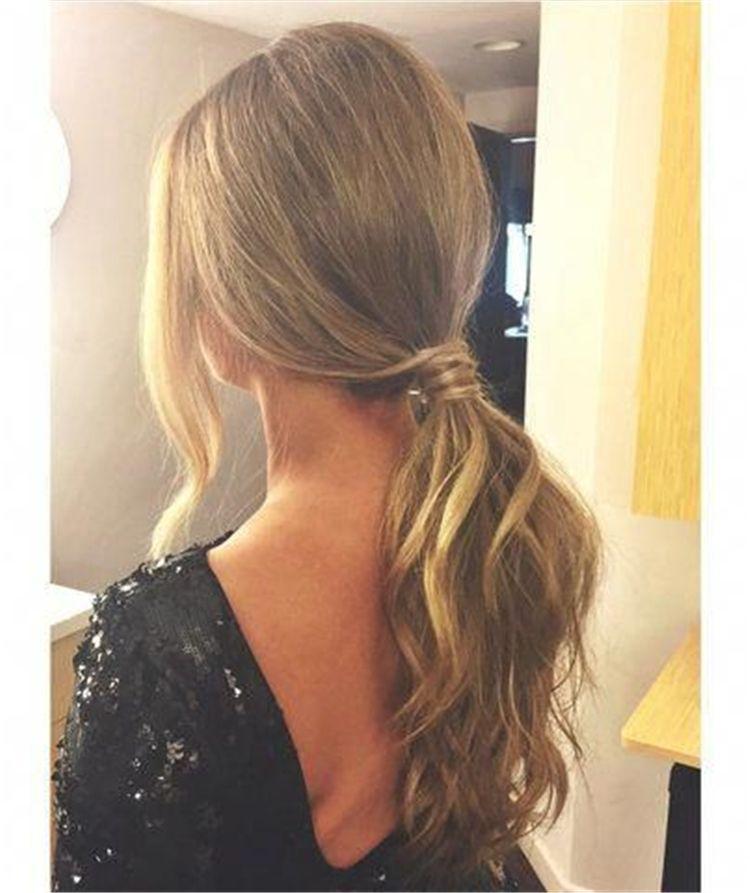 50 peinados de cola de caballo magníficos y llamativos para que pruebes – Página 49 de 50 – Blog de estilo de vida de moda femenina Shinecoco.com