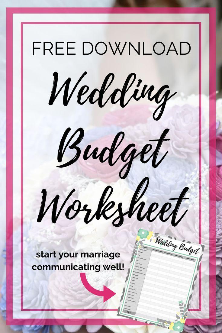 Workbooks wedding worksheets printable : Wedding Budget Worksheet | Wedding budget worksheet and Fashion