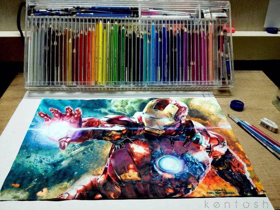 Los Dibujos Mas Impresionantes Del Mundo A Color Dibujos Impresionismo Dibujos Realistas
