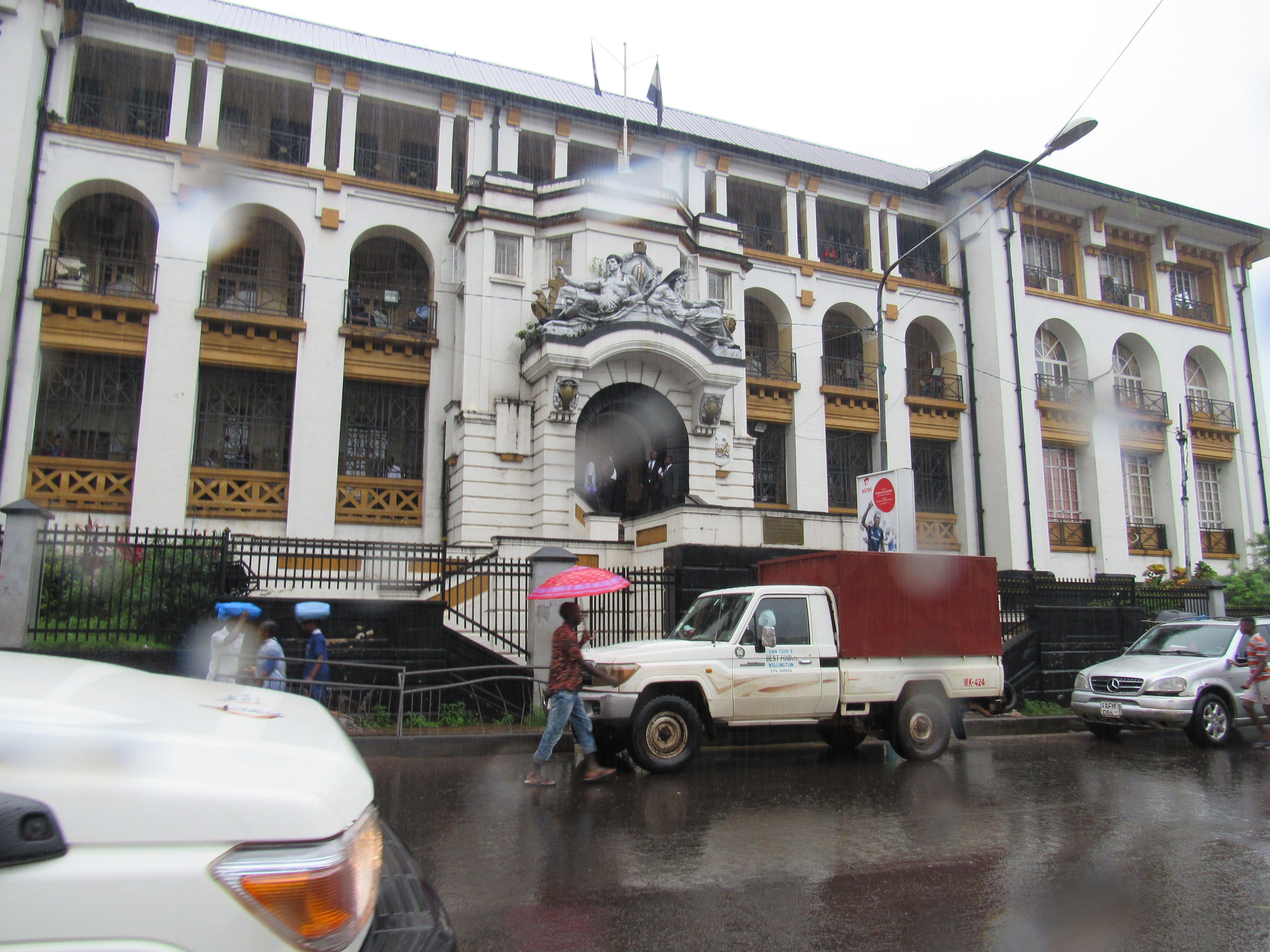 Court Building In Freetown Sierra Leone Freetown Sierra Leone West Africa