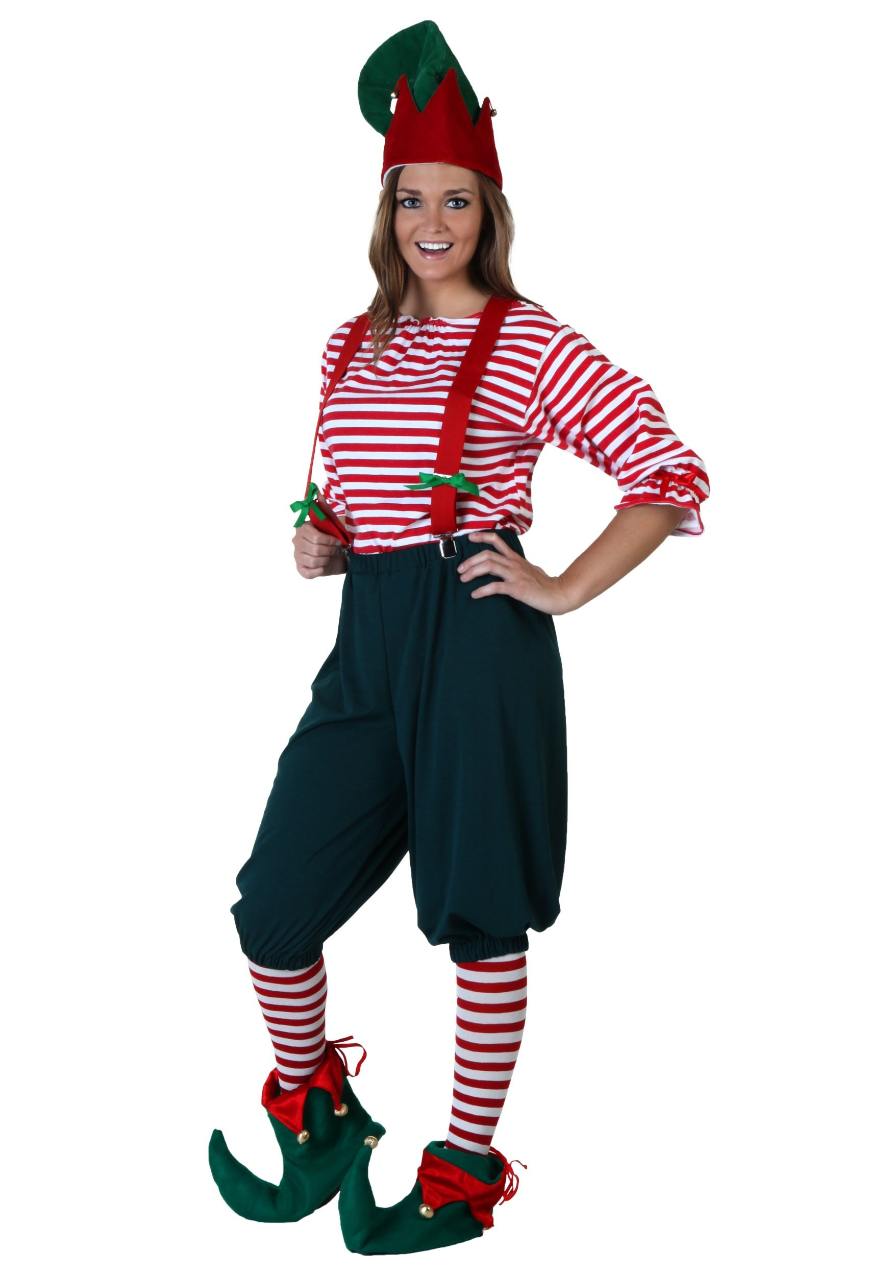 Adult Green Elf Costume - Party City | Running | Pinterest | Elves ...