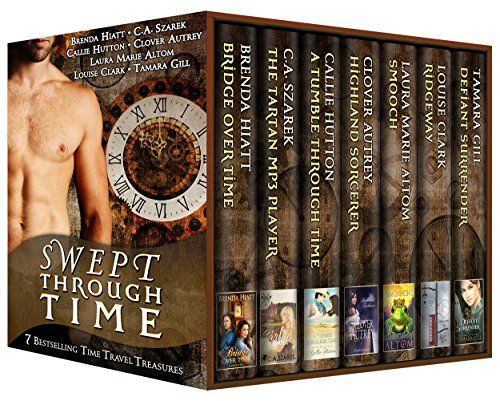 Swept Through Time 7 Bestselling Time Travel Treasures By Tamara