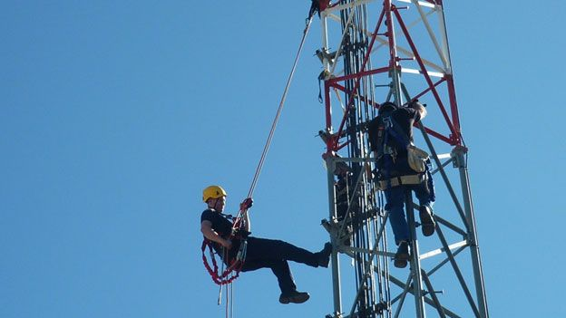Fall Protection Training Tower Climber Fall Protection Training Power Lineman