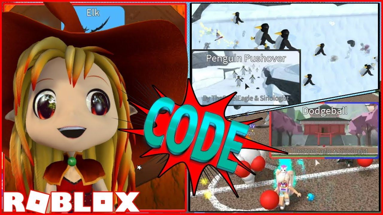 CODE! Playing The Two new MINIGAMES! Roblox Epic Minigames