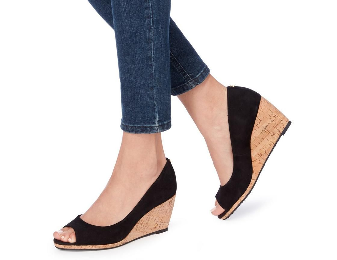 f925a5fba12 Add a vintage vibe with the Cadence wedge court shoe from Dune London. This  slip