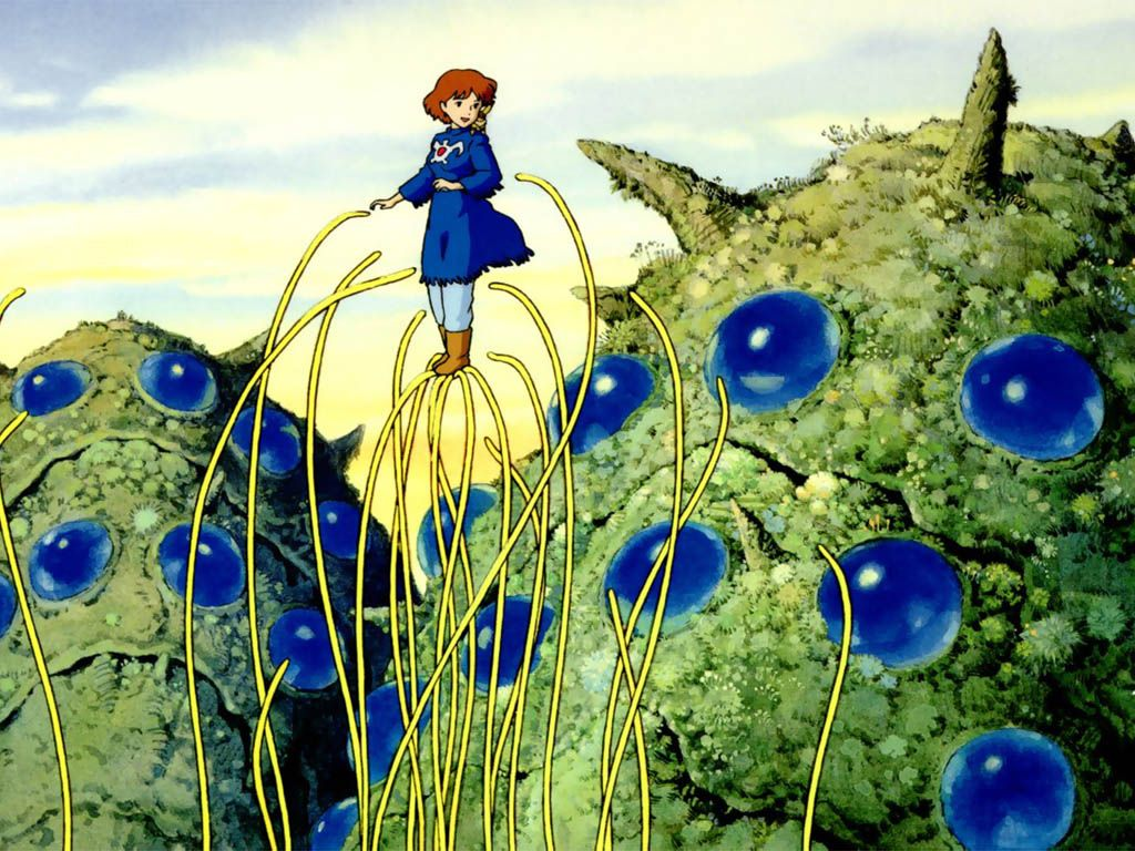 Nausicaa Of The Valley Of The Wind Studio Ghibli Ghibli Miyazaki