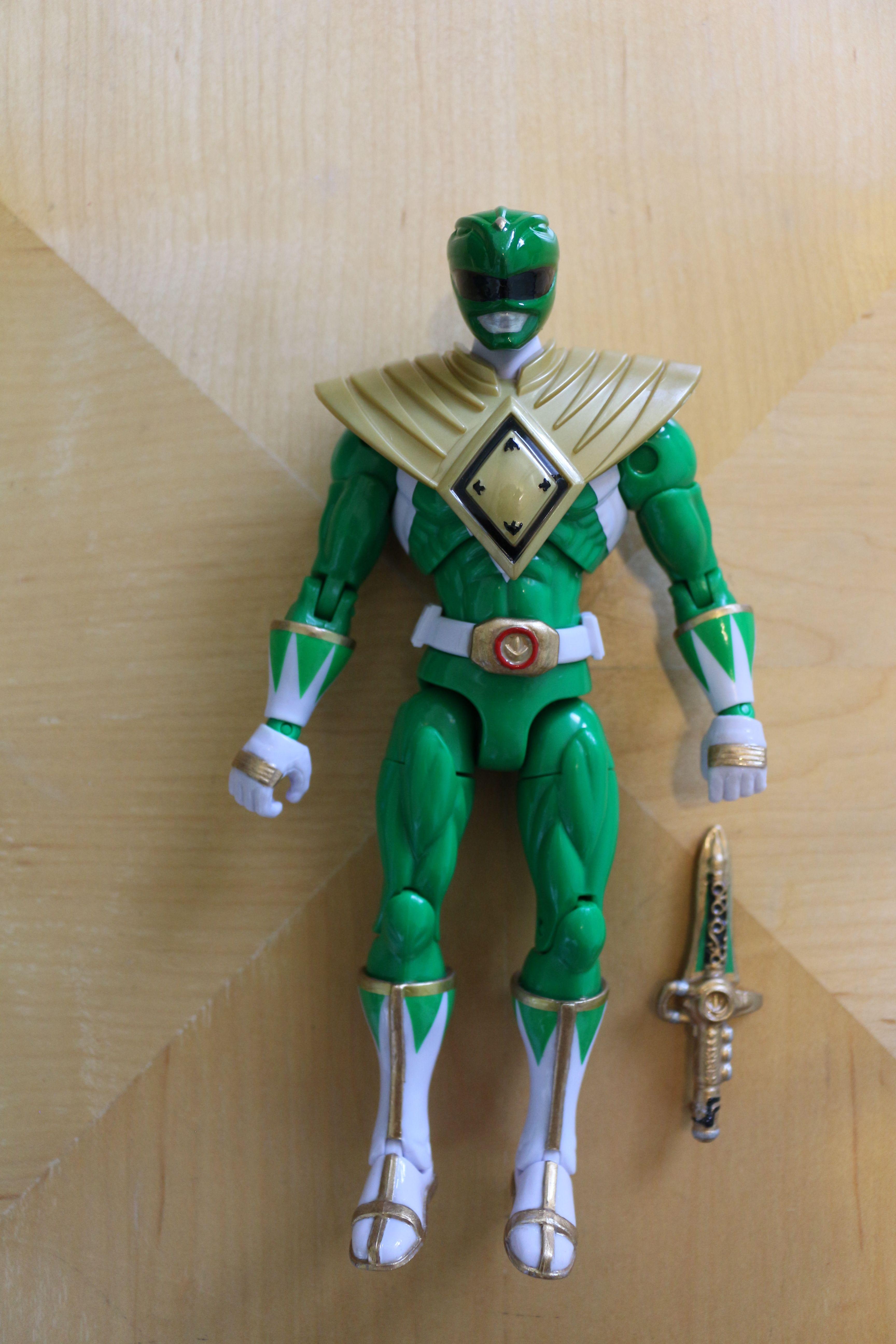 Power Rangers Green Ranger Custom Armored Ranger 20th Anniversary Green Ranger Power Rangers Ranger
