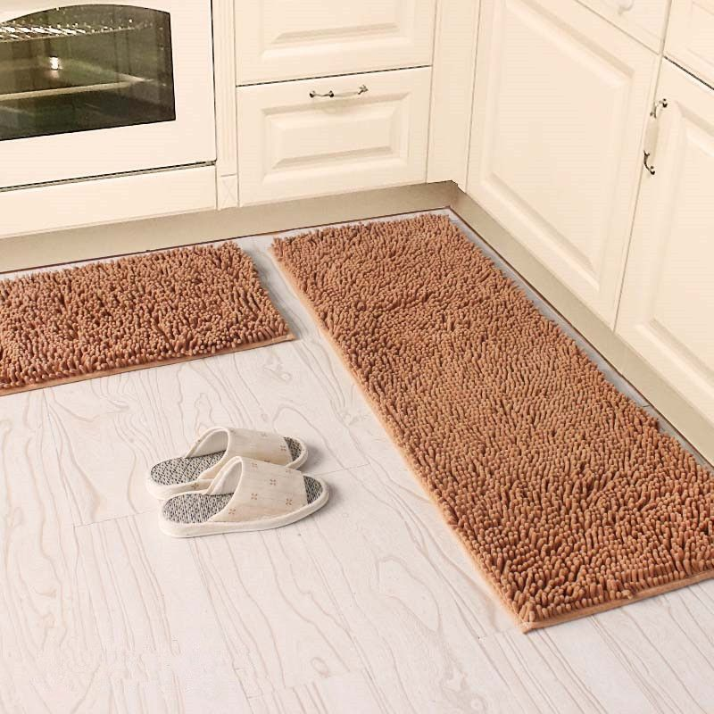 40x60 40x120cm Set Anti Slip Kitchen Mat Absorb Water Bathroom