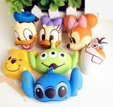 Stitch Squishy Bun : sillysquishies.com - Mini Colored Disney Squishies ,   USD3.99 (http://www.sillysquishies.com/mini ...