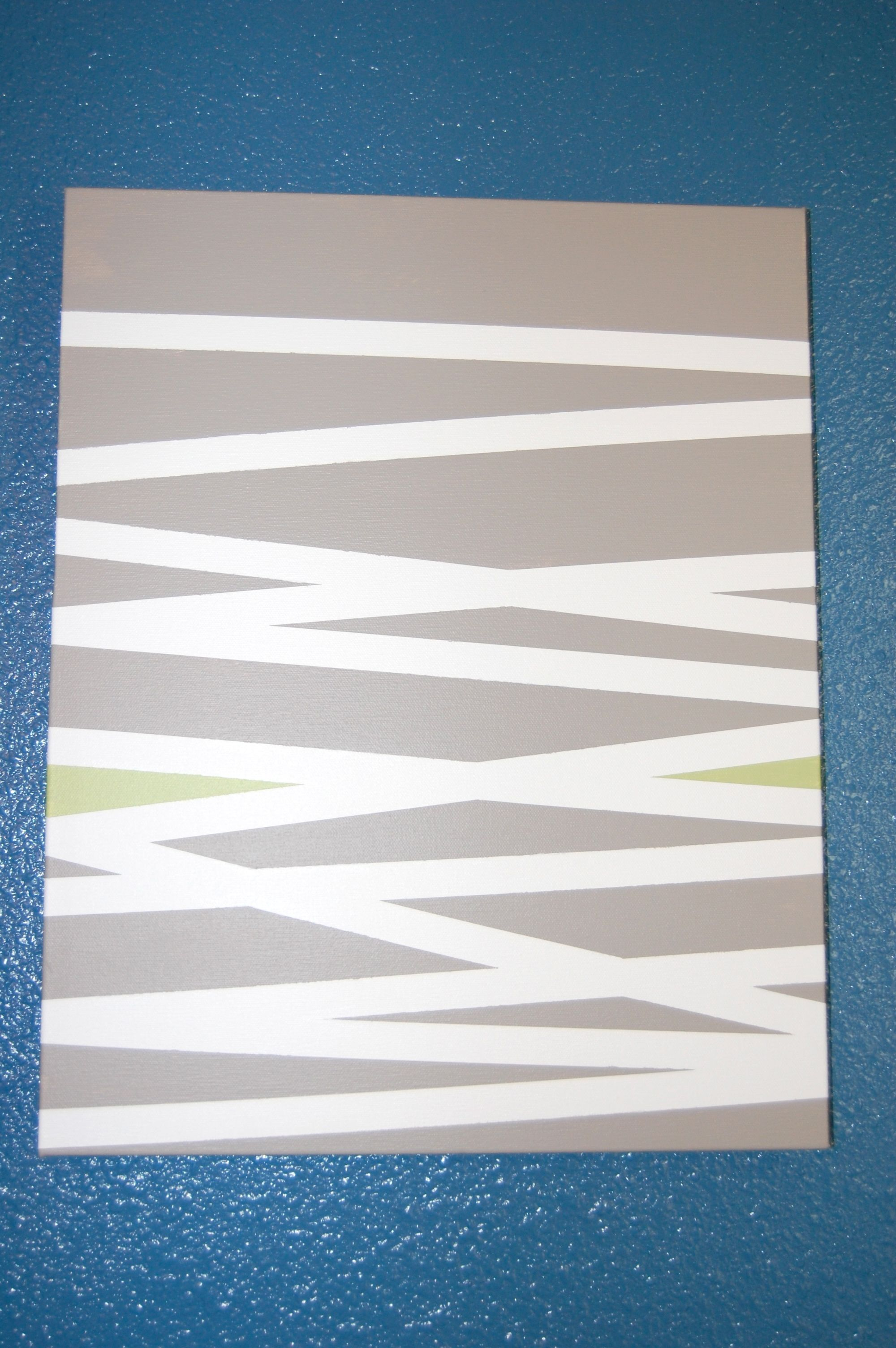 Striped Canvas Art With Painters Tape Painters Tape Art Diy Canvas Art Canvas Art