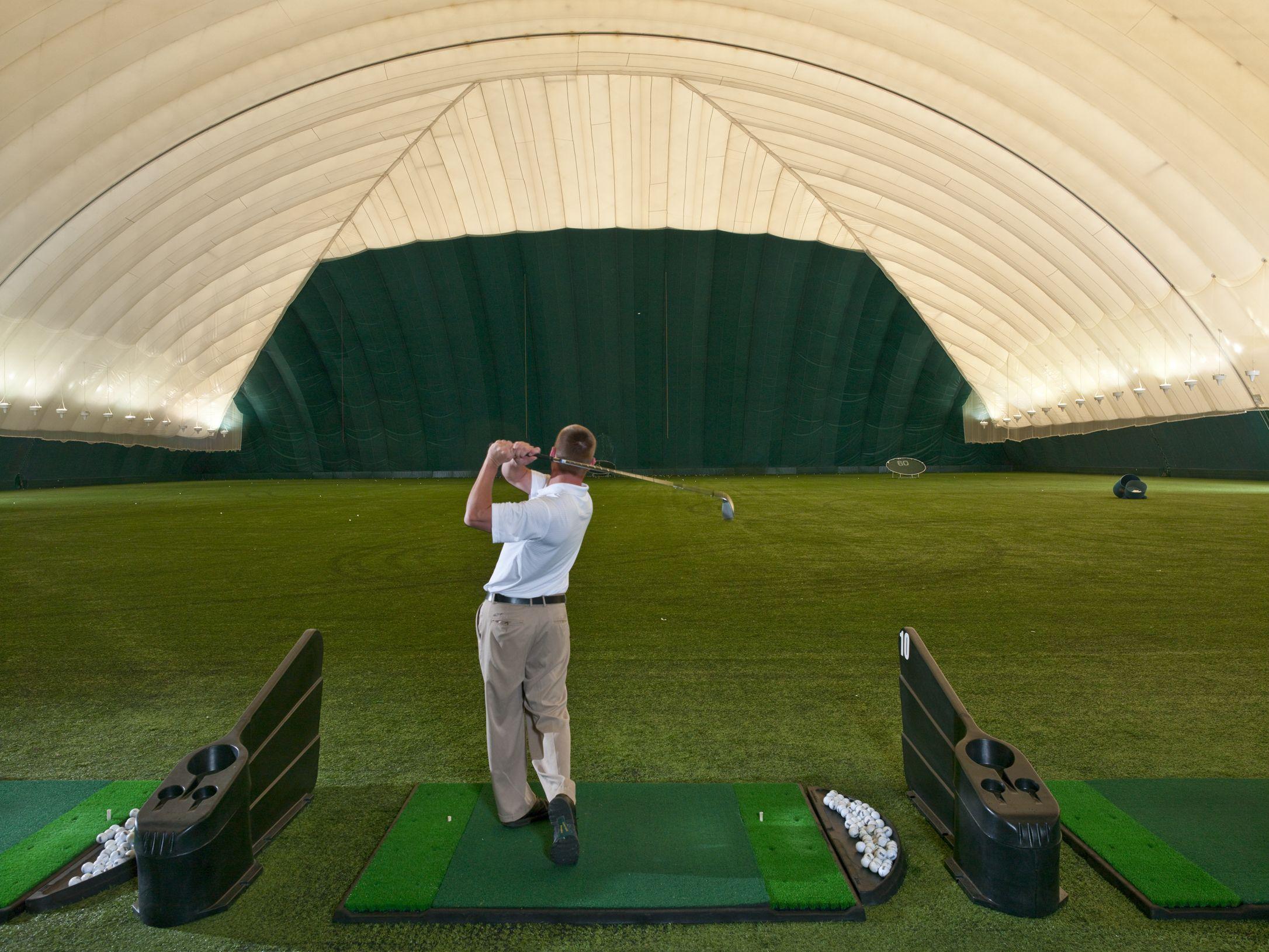 Nice Indoor Golf At Turning Stone Sportsplex