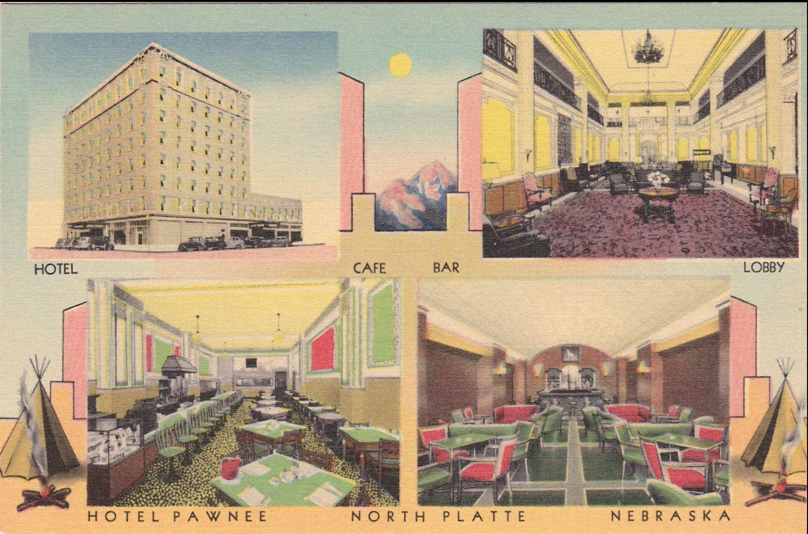 Ee Hotel North Platte Ne Ca 1930 S Is