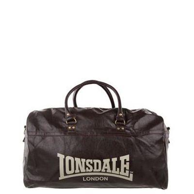 Lonsdale Sumo Ed Pvc Extra Large Bag Bags Choc