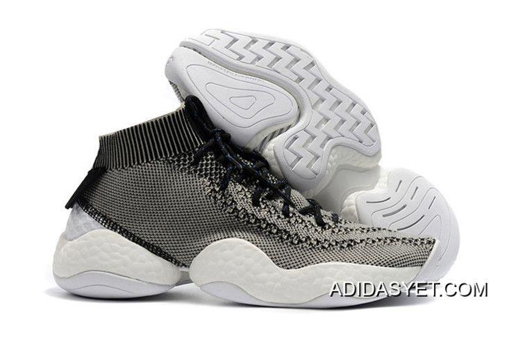 d9310c3cb7a 2019 的 Adidas Crazy BYW Primeknit Light Grey And Black New Year ...