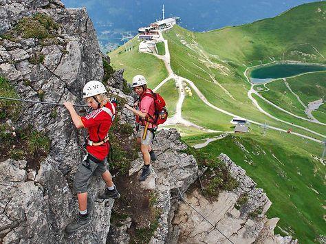 Klettersteig Kleinwalsertal : Gesicherter nervenkitzel klettersteige immer beliebter fotos