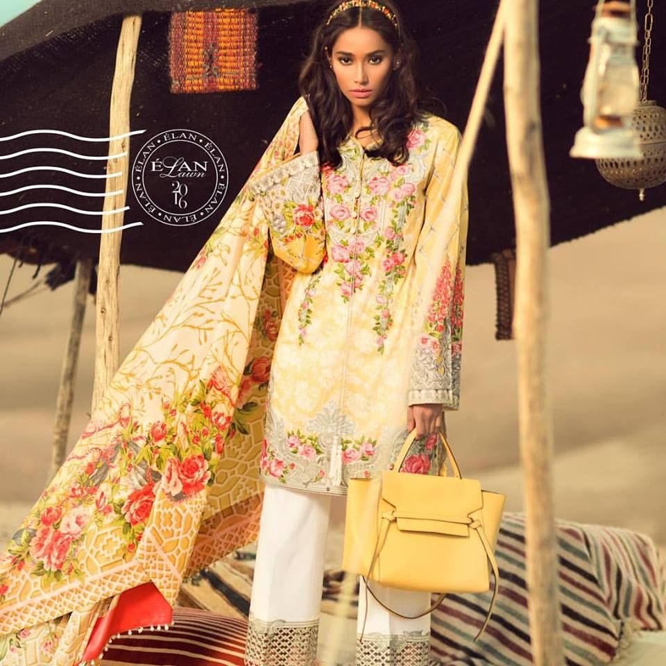 Elan Lawn Spring Summer Collection 2016 Catalogue prices | Summer ...
