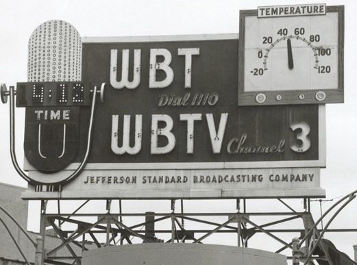 Wbtv S Slideshows Point Of Purchase Radio Station Vintage Signs