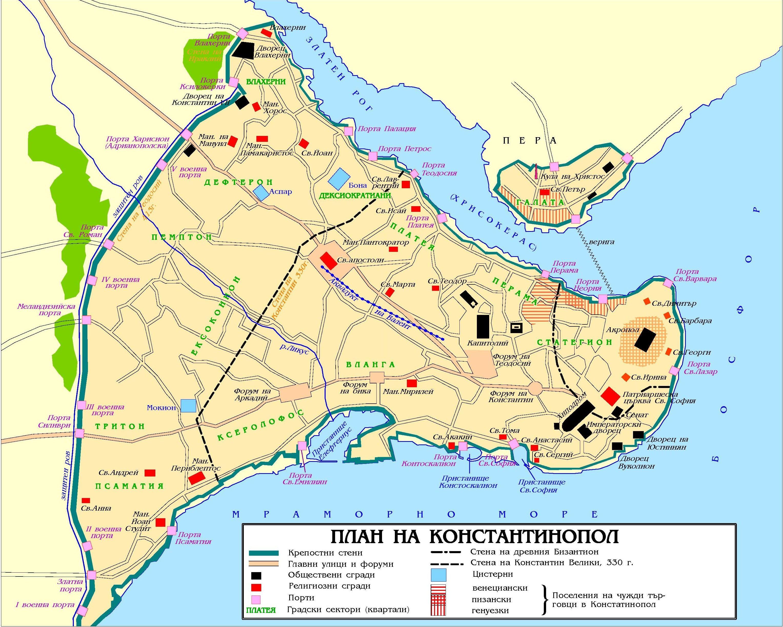 Map of Constantinople mapSCAPE Pinterest