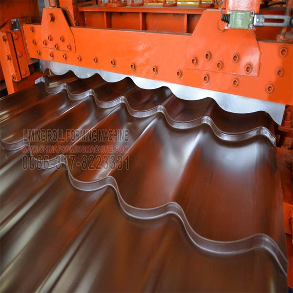 Pin On Glazed Tile Step Roof Roll Forming Machine