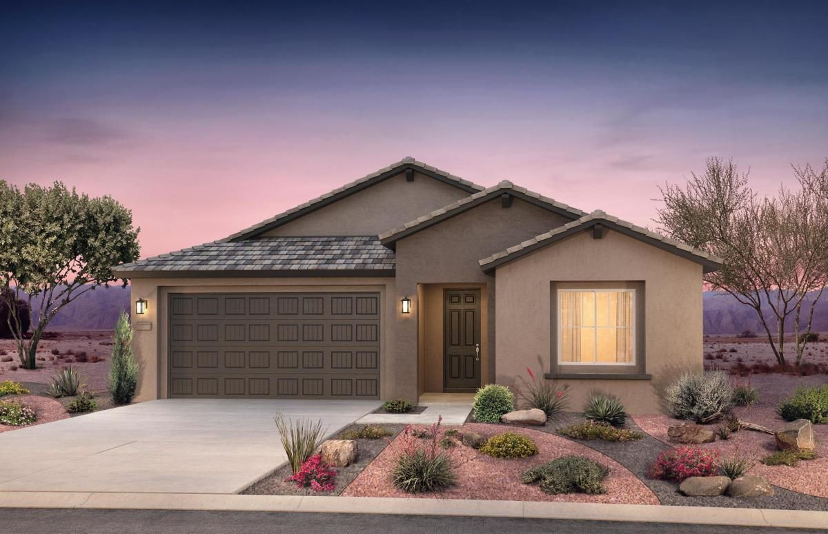 Home Exterior B With Optional Flat Tile Roof In 2020 House Exterior Pulte Homes House Styles