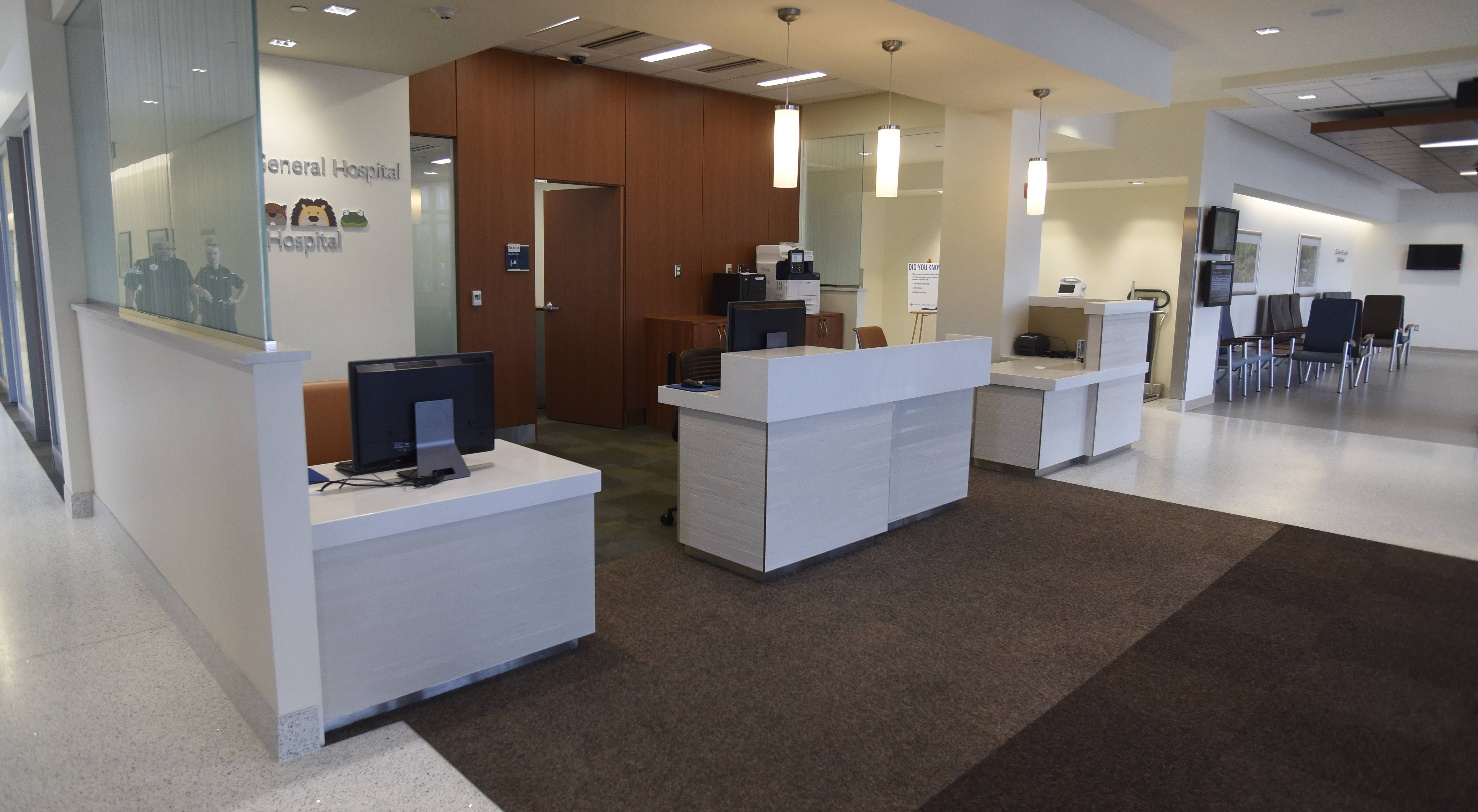 13 new emergency rooms at Lutheran General | Trauma center and Lutheran