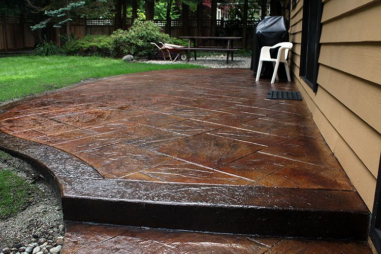 Cmdt Systems Decorative Stamped Concrete Patios In Vancouver