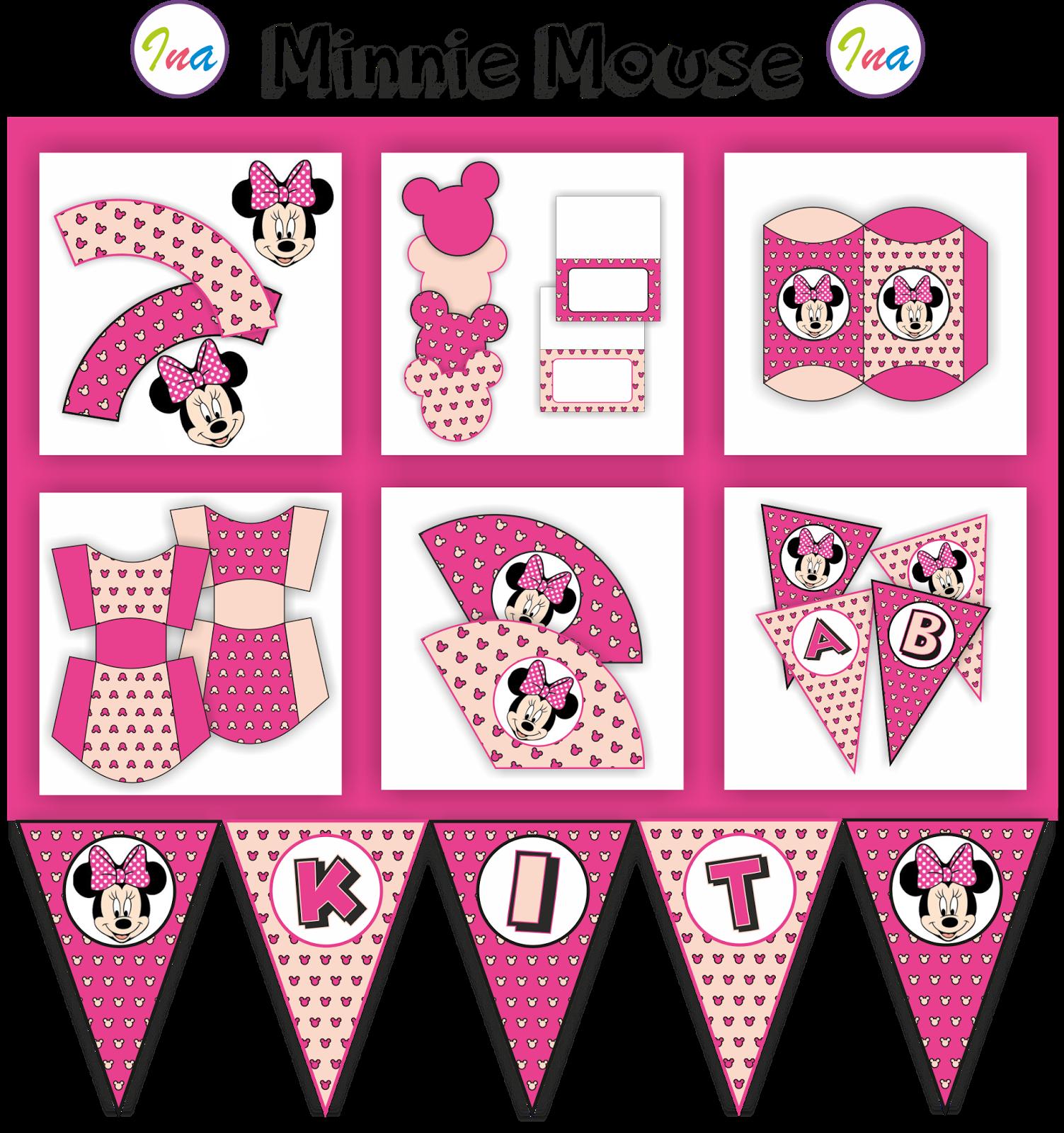 Fiesta Temática Mickey y Minnie Mouse | chuli | Pinterest | Minnie ...