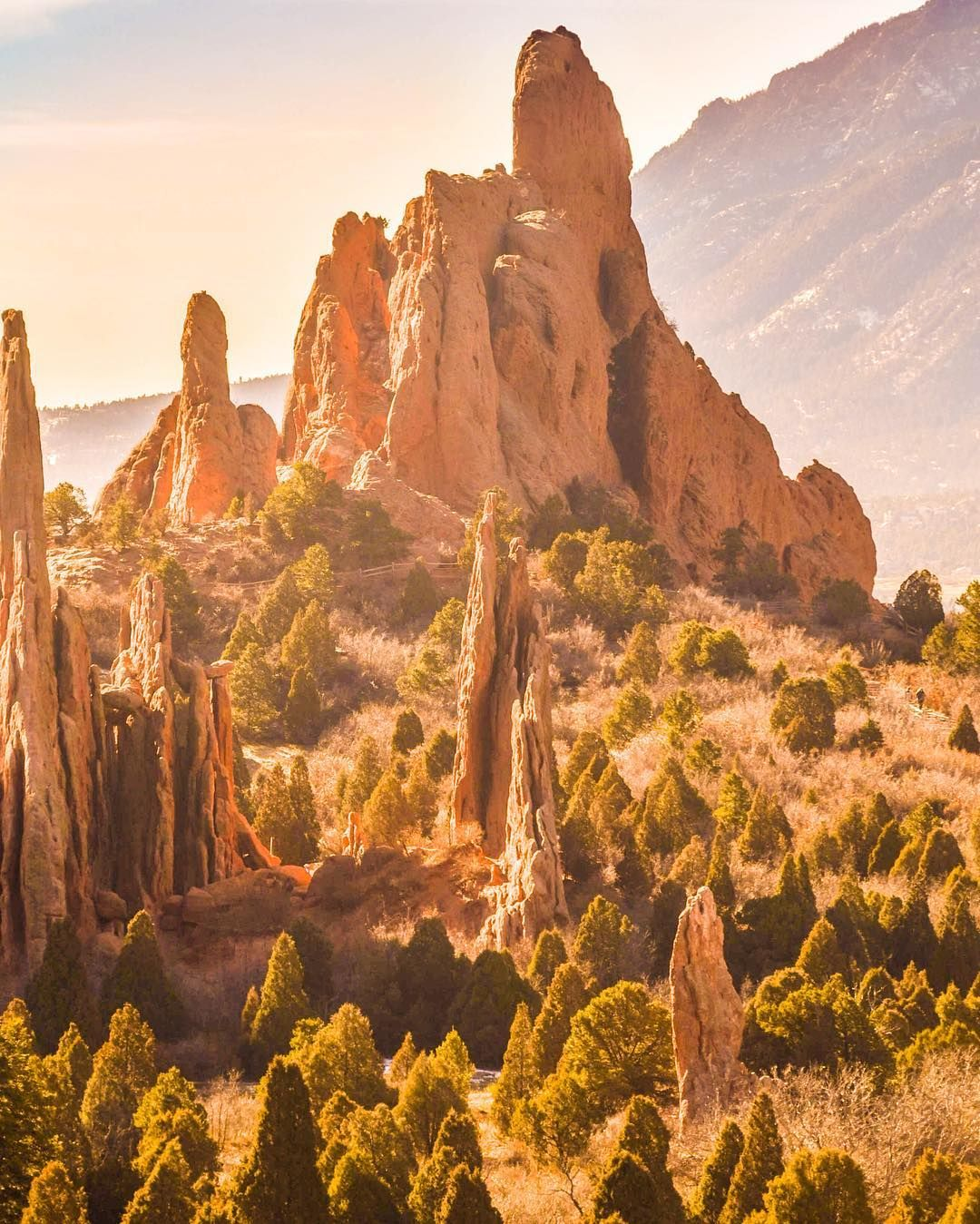The Ultimate One-Day Colorado Road Trip | Garden of the Gods ...