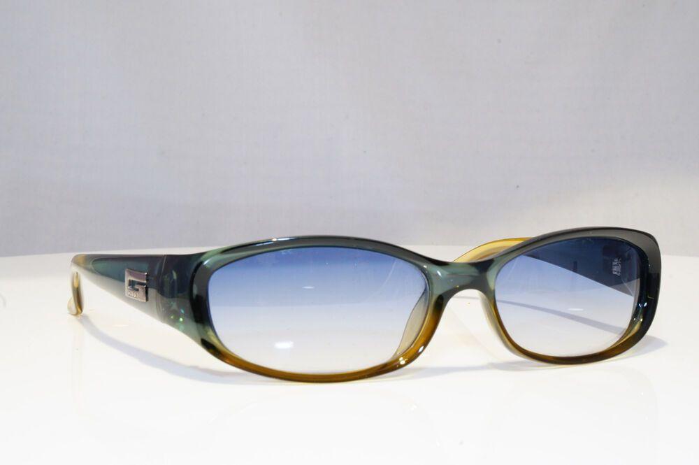 e85d2a0a8737d eBay  Sponsored GUCCI Mens Unisex Vintage Designer Sunglasses Green GG 2456  E1K 18658