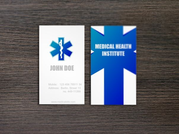 Keywords  Medical Doctor Healthcare Business Card Medical Card