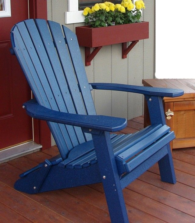 phat tommy deluxe forever recycled poly folding adirondack chair