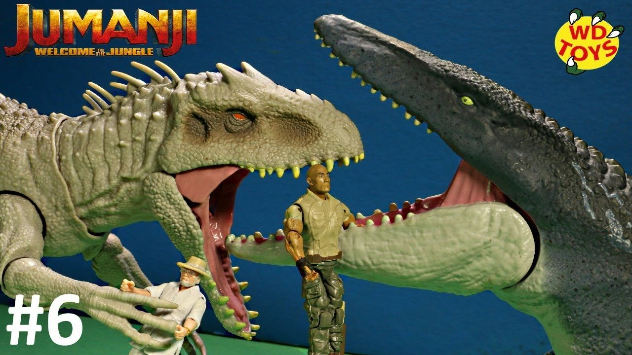 INDOMINUS REX VS MOSASAURUS ep6 Jumanji The Next level