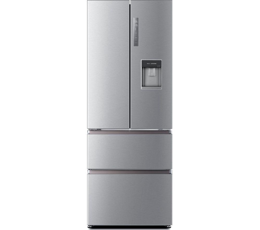 Haier Hb16wmaa 60 40 Fridge Freezer Stainless Steel American