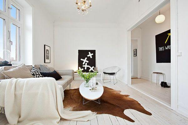 wohnzimmer modern : kuhfell wohnzimmer modern ~ inspirierende ... - Kuhfell Wohnzimmer Modern