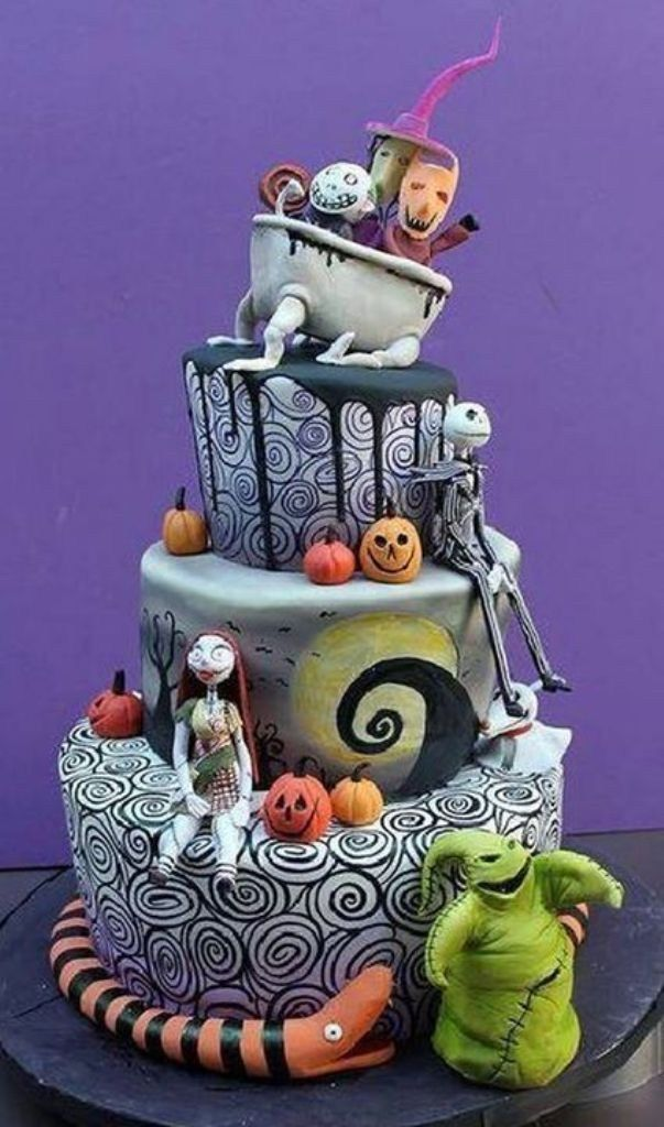 Top 10 Best Cakes In The World : cakes, world, Artists, World, TopTeny.com, Nightmare, Before, Christmas, Cake,