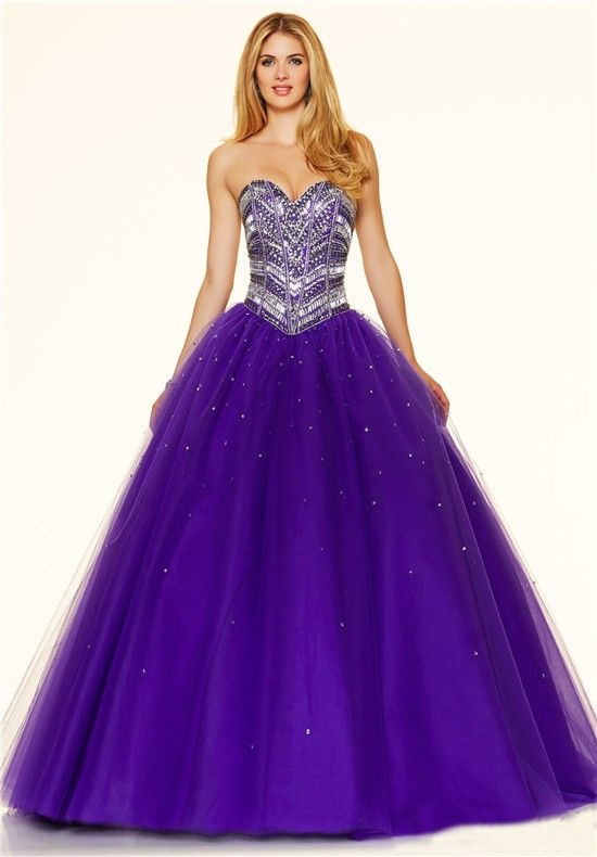 Violet Strapless Dress