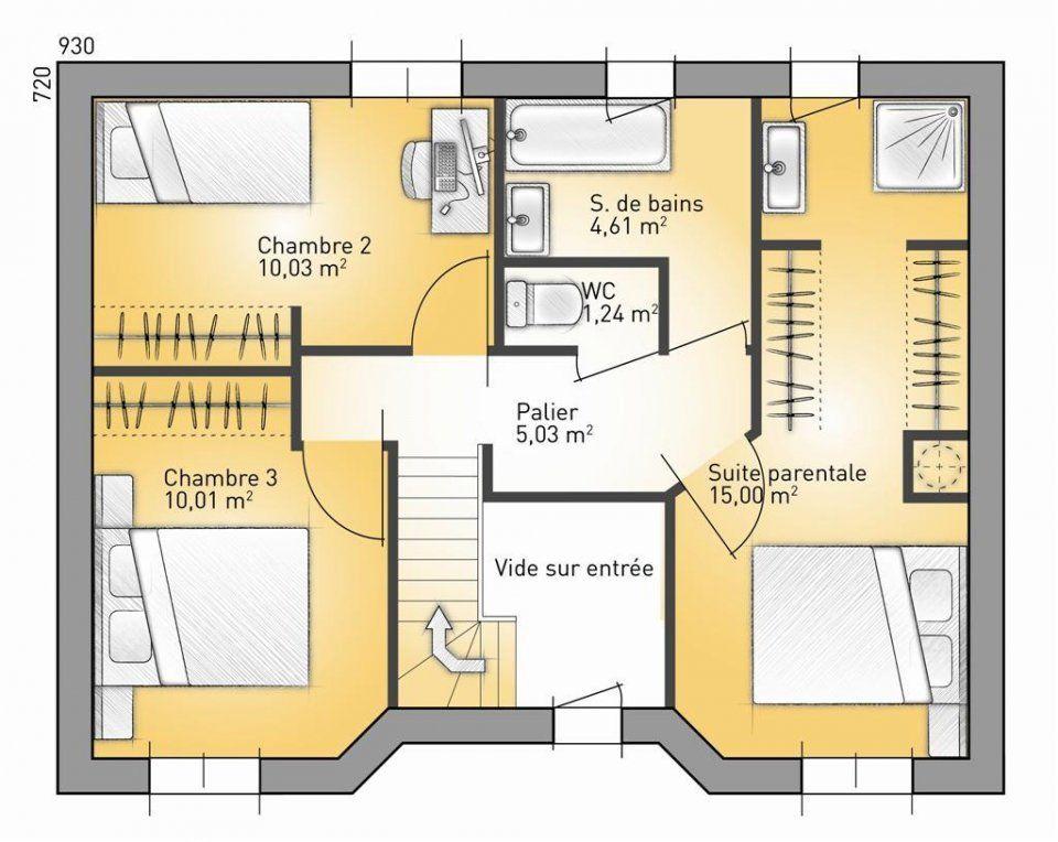 Plan maison neuve à construire - Maisons France Confort City 98
