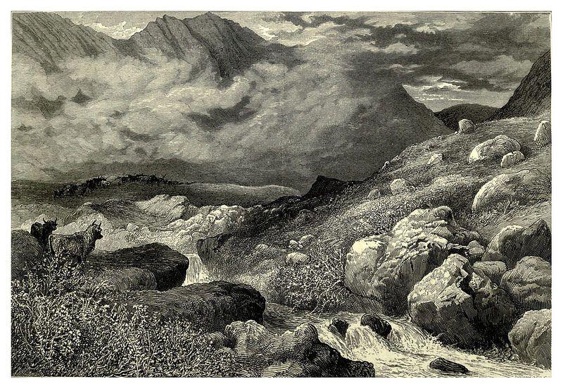 009-El paso de Glencoe-Escocia-Picturesque Europe..