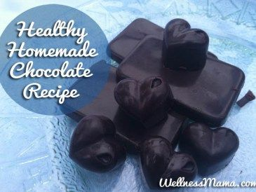 Homemade Chocolate Recipe- Healthy, easy and delicious
